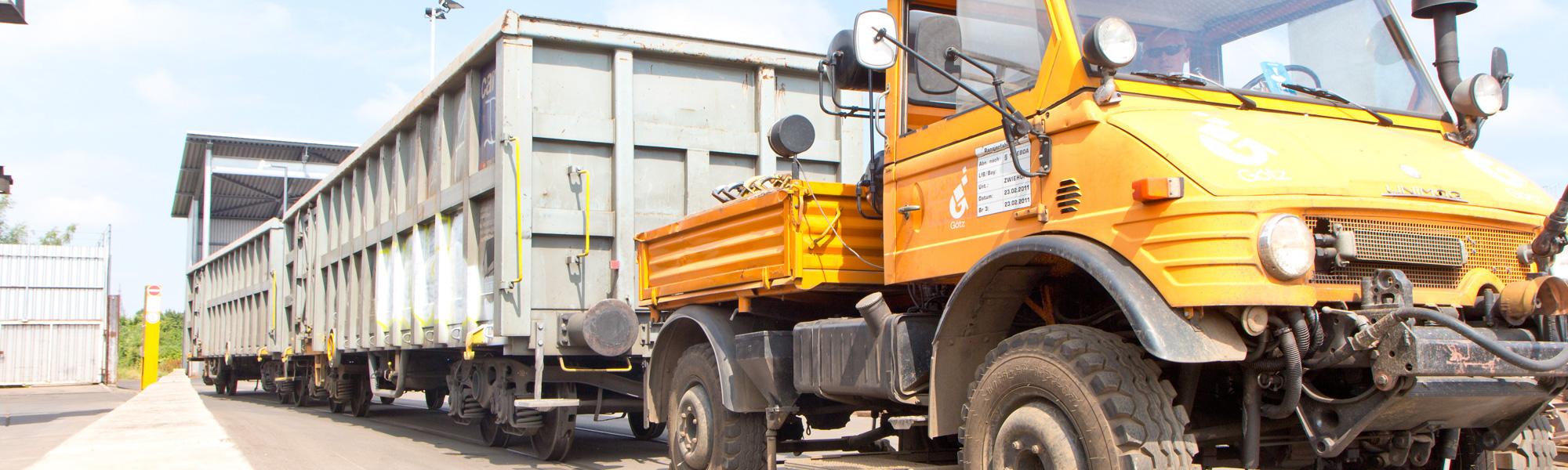 Götz GmbH Logistik Unimog