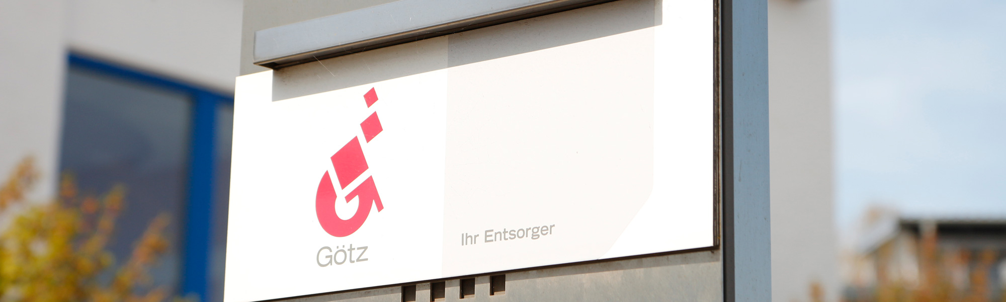 Götz GmbH Schrott + Metalle Weißenhorn Firmengebäude