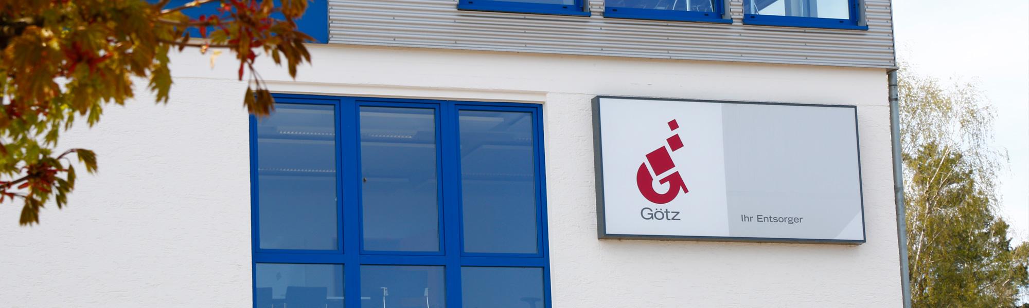Götz GmbH Schrott und Metalle Firmensitz