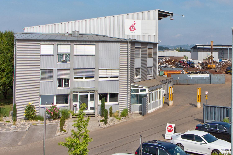 Götz GmbH Firmengebäude Standort Neu-Ulm